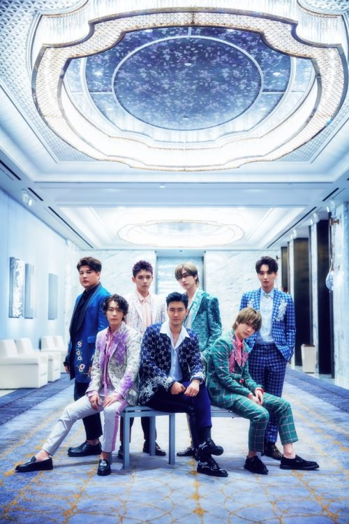 Super Junior《One More Time》宣传照